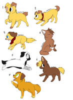 FREE shelter dog adopts^^ OPEN! by FrankinPoodle