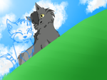 Graystripe and Silverstream by GrellTheShinigami52