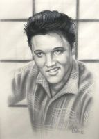Elvis Presley by ericdeancoleman