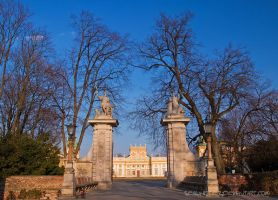 Wilanow Gate by SeaWhisper