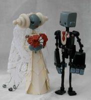 The Wedding Couple by SpaceCowSmith