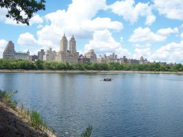 Lake in Central Park by thegreatjason