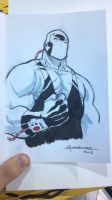Bane con sketch by scottygod