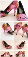 Pirate Octopus Heels by ponychops