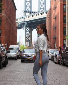 Lightblue jeans by HannahStocking