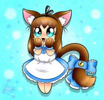 Contest: Chibi Alice Cat Nya~ by Spice5400