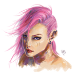 vi painting practice by zhaoly