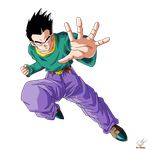 Dragon Ball - GOTEN EVIL by songohanart