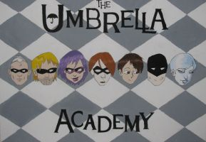 The Umbrella Academy by shadowlovinfanbunny
