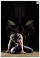 Devilman - The Beast Whitin by Flavio77