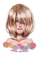 Realism Challenge: Flower Girl by Haremi