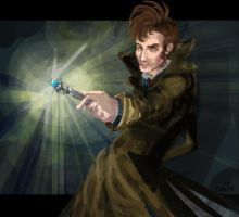 The Sonic Screwdriver by cadet