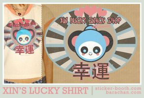 xin's lucky shirt by bara-chan