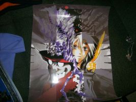 D.gray man Poster by albertxlailaxx
