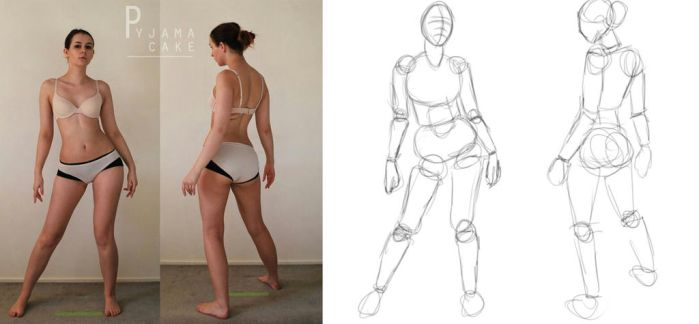 Character Design: BUILDING THE FIGURE by zinniya