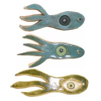 Squid Objects by aberrantceramics