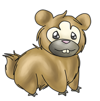 Bidoof by Hannah66665