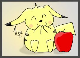 Pika Apple by Lucora