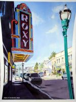 The Roxy Theater- Northampton by thenakedcanvas