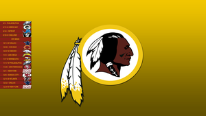 Washington Redskins 2013 Schedule Wallpaper by SevenwithaT