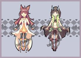 Humanoid adoptables 7 (CLOSED) by Epic-Soldier