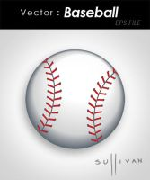 Baseball - Vector by Sullyman