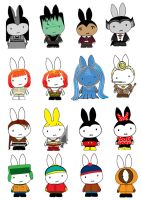 Generation Miffy the Ocho by likimonster