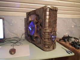 Steampunk Dieselpunk Mix Pc Case Mod by SimonSaysBaka