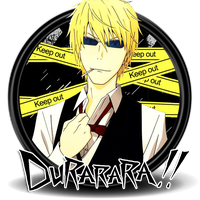 Durarara!! Circle Icon by Knives by knives1024