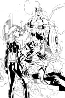 Claytons X-men 268 inked by ragelion