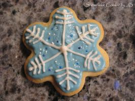 Snowflake Cookie by panhead121
