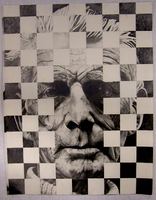 Portrait of Samuel Beckett by LancerMoo