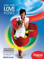 Digicel Poster Jamaica by creativenrg
