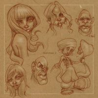 sketches2 by Kravenous