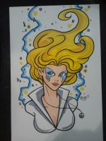 Wizard Philly 2013 - Dazzler by RichBernatovech