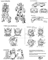 Lumaria reference sheet by Transformers-Halo