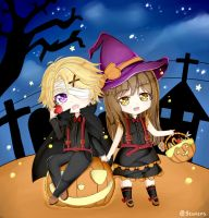 Mystic Messenger Happy Halloween by Yoosung x MC by michi1412