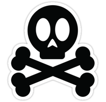 POISON SKULL AND CROSS BONES by Mehdals