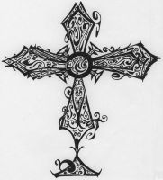 cross by Sydia