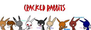 Cracked Rabbits (2) by 3933911
