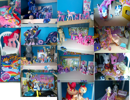 My little Pony Friendship is Magic Collection by TOADMA