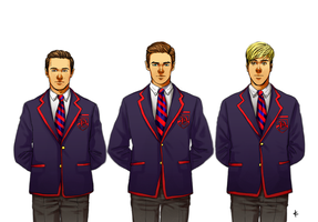 Glee FanArt: Which Side Are You On? by NinaKask