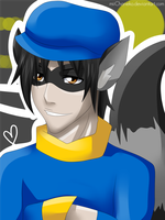 Xmas Gift 1: Sly Cooper by miiChaneko