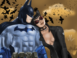 Love at Arkham by IGTorres-Art