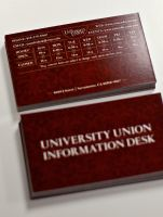 Information Desk business Card by kenji2030