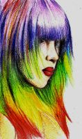 Rainbow Strands-The Crayon Creation Challenge by zakkiya29