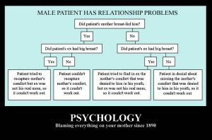Psychology VS Mothers by requin