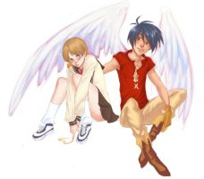collab. Escaflowne by kiikii-sempai