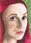 Melisandre Red Witch Game of Thrones by Purple-Pencil