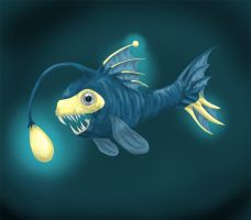 a delicate fish by Silverbirch